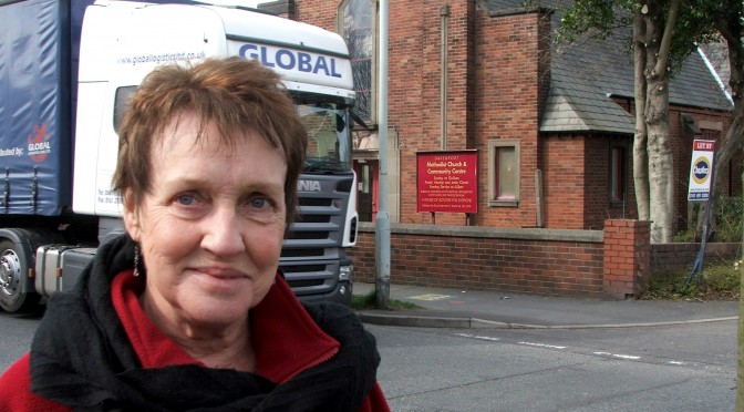 Ann to HGVs: Respect Stockport's Roads